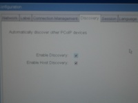 Thin Client Discovery Tab